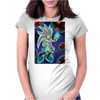 His Power within +Silver the Hedgehog+ Womens Fitted T-Shirt