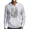 Hispanic Legend La Llorona (black and white) Mens Hoodie