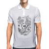 Hispanic Legend La Llorona (black and white) Mens Polo