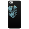 Hispanic Legend La Llorona (blue) Phone Case