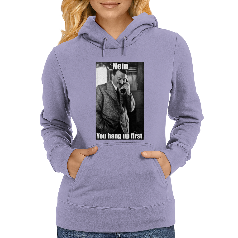 Hitler Take The Mickey Phone Comedy Womens Hoodie