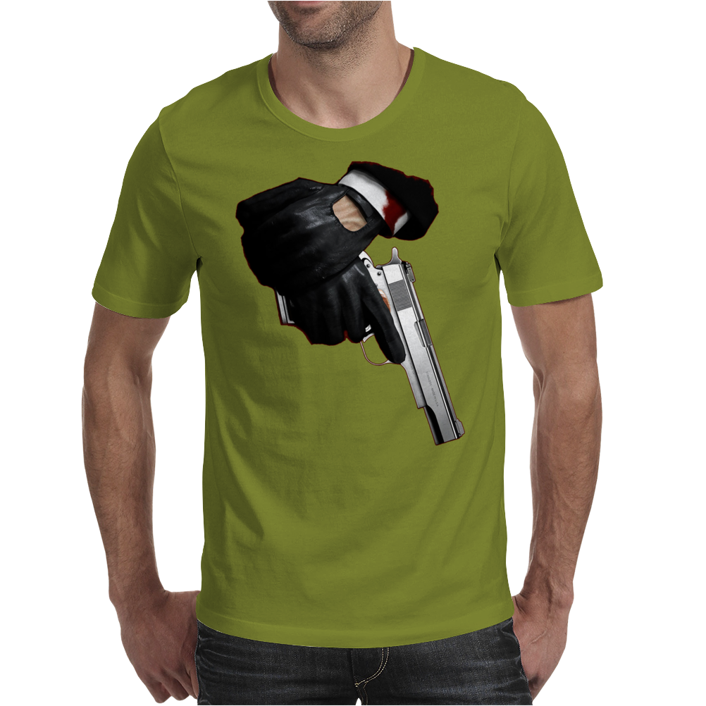Hitman inspired design Mens T-Shirt