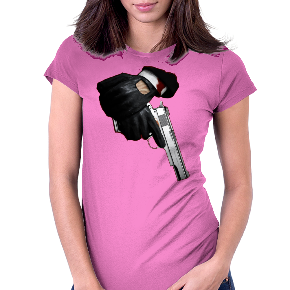 Hitman inspired design Womens Fitted T-Shirt