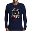 HitPug Mens Long Sleeve T-Shirt