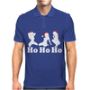 Ho Ho Ho Funny Christmas Sexy Girls Mens Polo