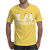 Ho Ho Ho Funny Christmas Sexy Girls Mens T-Shirt