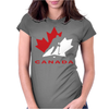 Hockey Canada Womens Fitted T-Shirt