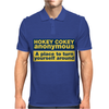 Hokey Cokey Anonymous, Ideal Birthday Gift Or Present Mens Polo