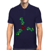 Holly Leaves with Berries Mens Polo