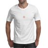 Holographic Sight Red Dot Scope White Mens T-Shirt