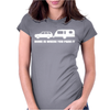 Home Is Where You Park It Womens Fitted T-Shirt