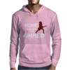 Home is where you shred Mens Hoodie