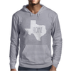 Home Texas Outline Mens Hoodie