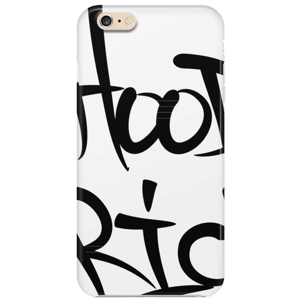 Hood Rich Typography Phone Case