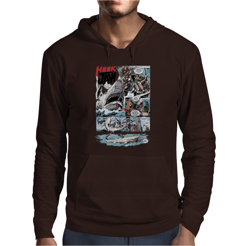 Hook Jaw 1, Ideal Gift or Birthday Present Mens Hoodie