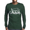 HOOKED ON JESUS Mens Long Sleeve T-Shirt