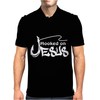 HOOKED ON JESUS Mens Polo