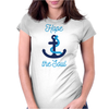Hope Anchors The Soul Womens Fitted T-Shirt