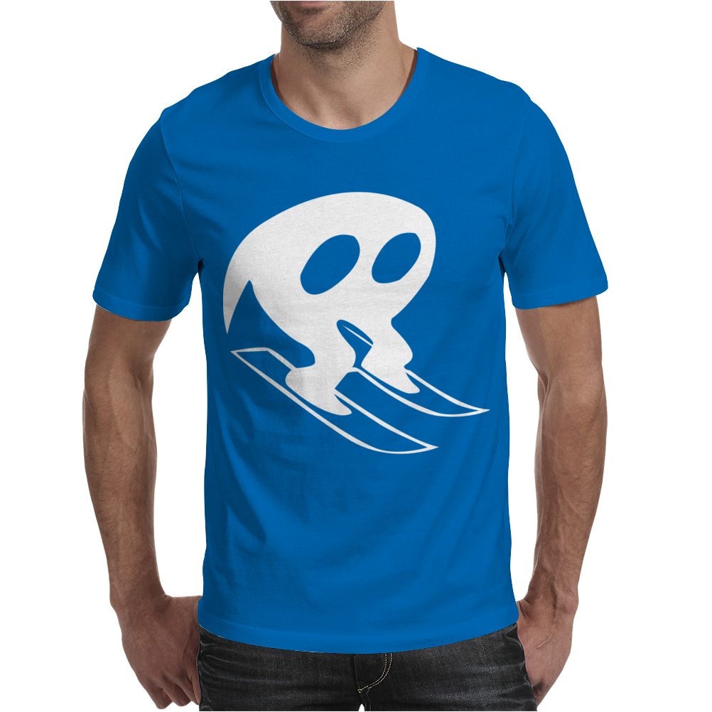 Horace Goes Skiing Mens T-Shirt