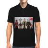 Horror Funny Retro Movie Halloween Mens Polo
