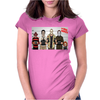 Horror Funny Retro Movie Halloween Womens Fitted T-Shirt