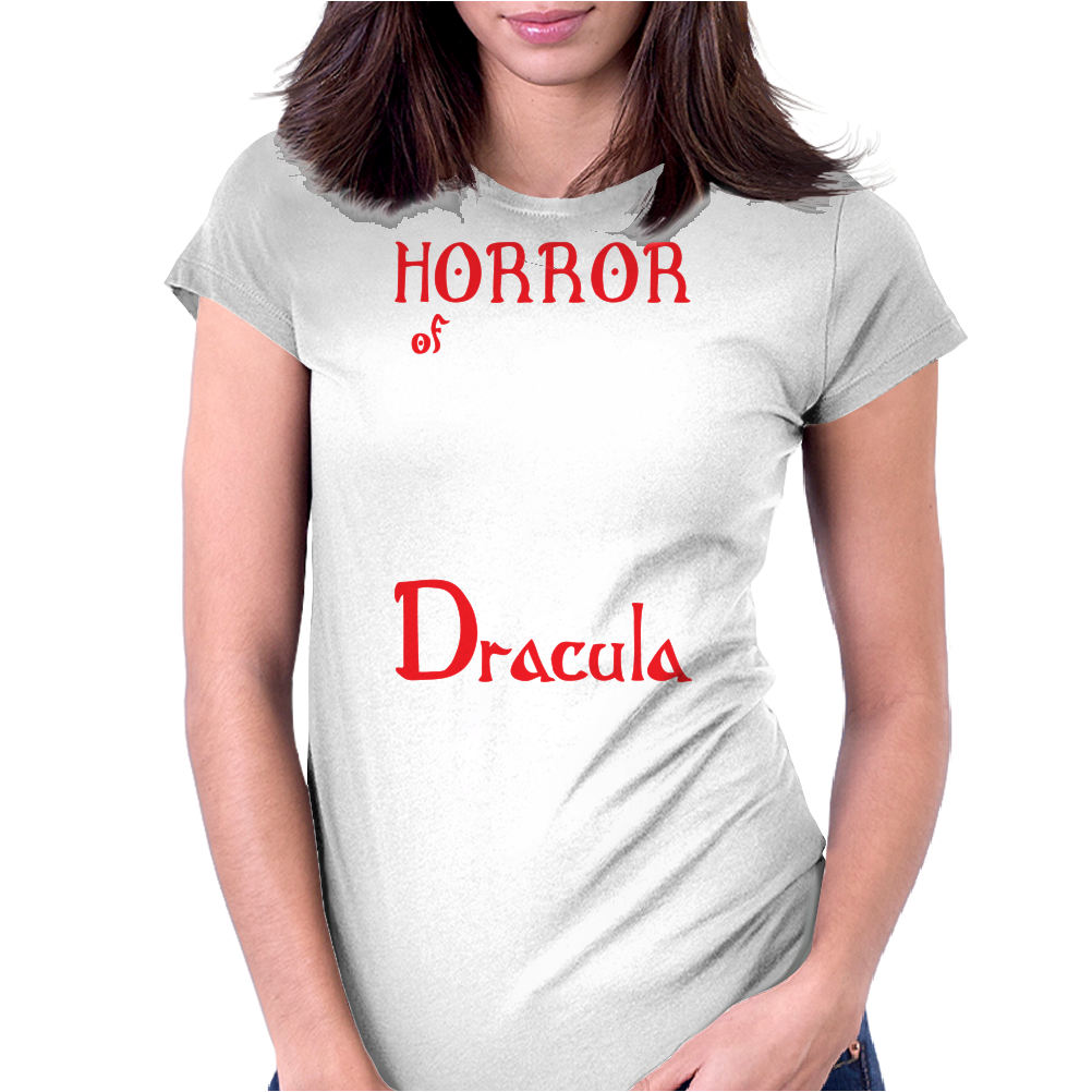 Horror of Dracula Womens Fitted T-Shirt