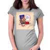 Horse Got Stuck Womens Fitted T-Shirt