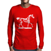 Horse Mens Long Sleeve T-Shirt
