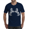 Horse Mirror Mens T-Shirt