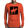 Horseback Riding Mens Long Sleeve T-Shirt