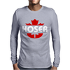 Hoser Canadian Bob and Doug Mens Long Sleeve T-Shirt