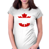 Hoser Canadian Bob and Doug Womens Fitted T-Shirt