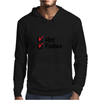 Hot and fishes Mens Hoodie