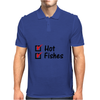 Hot and fishes Mens Polo