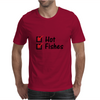 Hot and fishes Mens T-Shirt