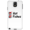 Hot and fishes Phone Case