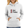 Hot and fishes Womens Hoodie