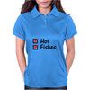 Hot and fishes Womens Polo