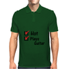 Hot and plays guitar Mens Polo