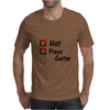 Hot and plays guitar Mens T-Shirt