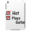 Hot and plays guitar Tablet