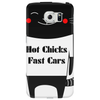 Hot Chicks Fast Cars Phone Case