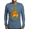 Hot Mens Long Sleeve T-Shirt