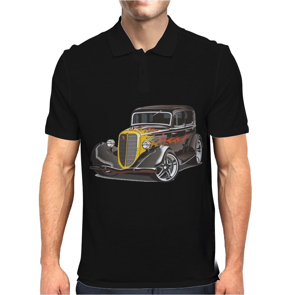 Hot Rod 2, Ideal Birthday Gift Or Present Mens Polo