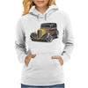 Hot Rod 2, Ideal Birthday Gift Or Present Womens Hoodie