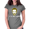 House Md Tv Show Its Not Lupus Womens Fitted T-Shirt