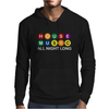 House Music All Night Long Mens Hoodie