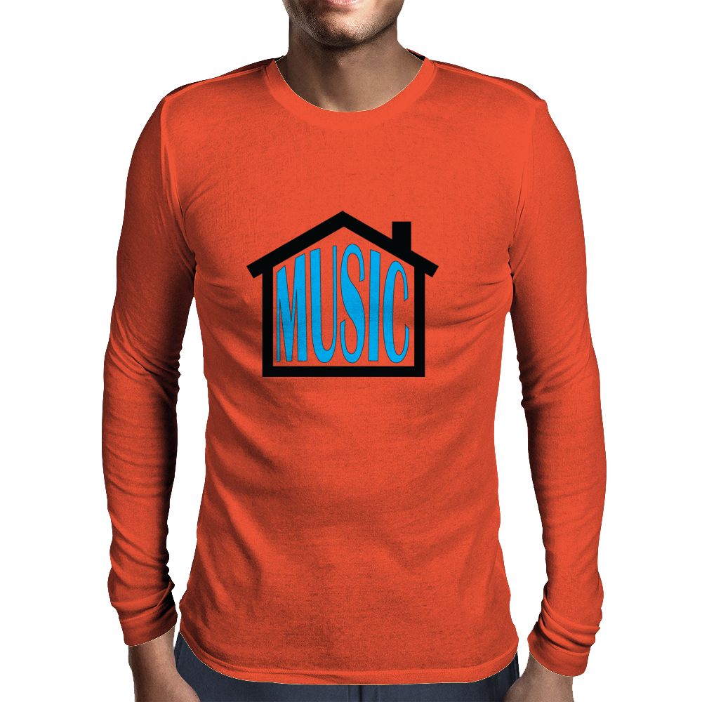 House Music Mens Long Sleeve T-Shirt