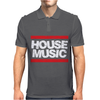 House Music Mens Polo
