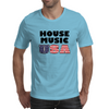 House Music USA Mens T-Shirt